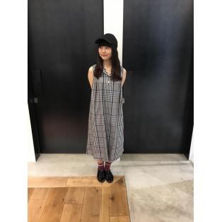 ☆SLEEVELESS SHIRT DRESS☆