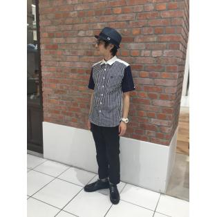 ☆MIX PANEL SHIRT☆