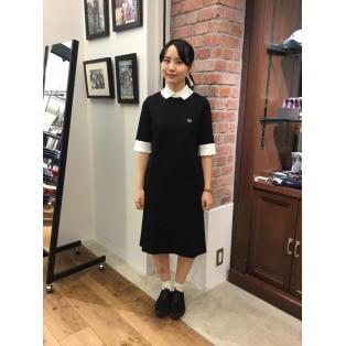 ☆RIB COLLAR DRESS☆