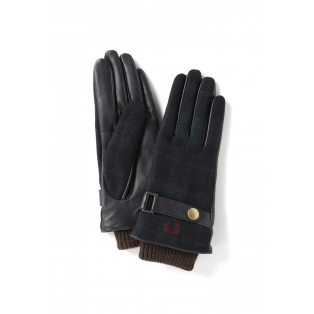 ☆WOVEN / LEATHER MIX GLOVES☆