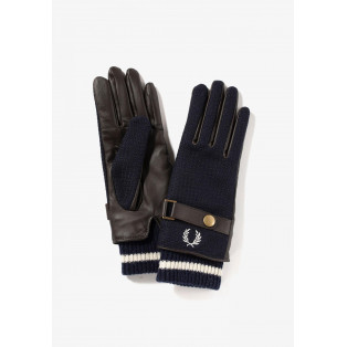 ☆WOVEN/LEATHER MIX GLOVES☆
