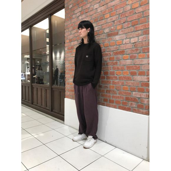 PIQUE KNIT SWEATER