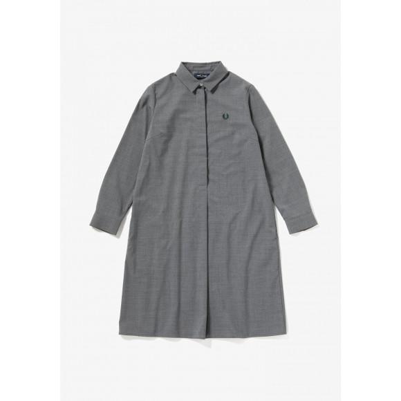 【SALE】PLEATED BACK SHIRT DRESS