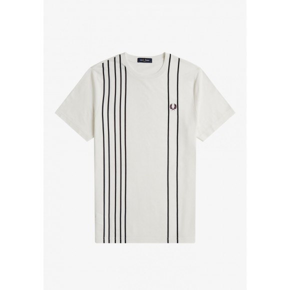 REFINED COTTON STRIPED T-SHIRT
