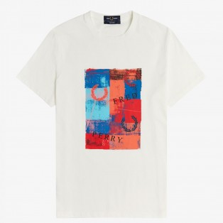 REISSUES  ABSTRACT PRINT-SHIRT