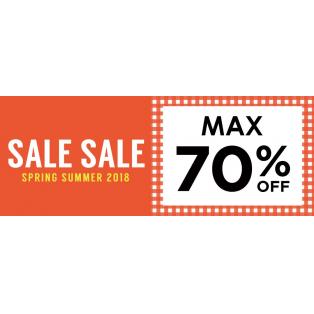 MAX70%OFF!!