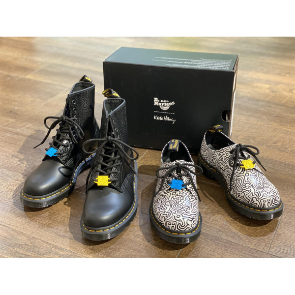 【2021 SSコラボ】Dr.Martens ×  KEITH HARING