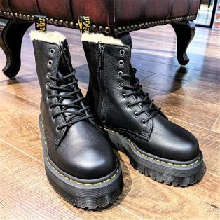 【2020AW】ファー付き厚底ブーツが新発売♪