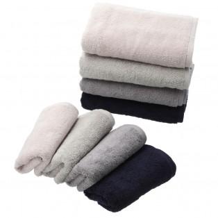 ふんわり肌触りと高い吸収力を持つタオル