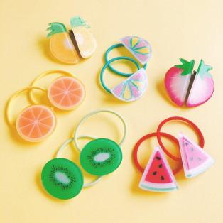夏を彩るカラフルフルーツで可愛くヘアアレンジ!