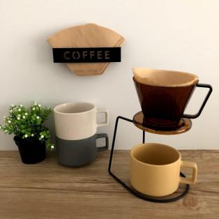 ほっと一息、コーヒータイム。