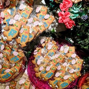 プレゼントはメッセージクッキーを添えて。