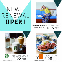 NEW & RENEWAL SHOPS !!