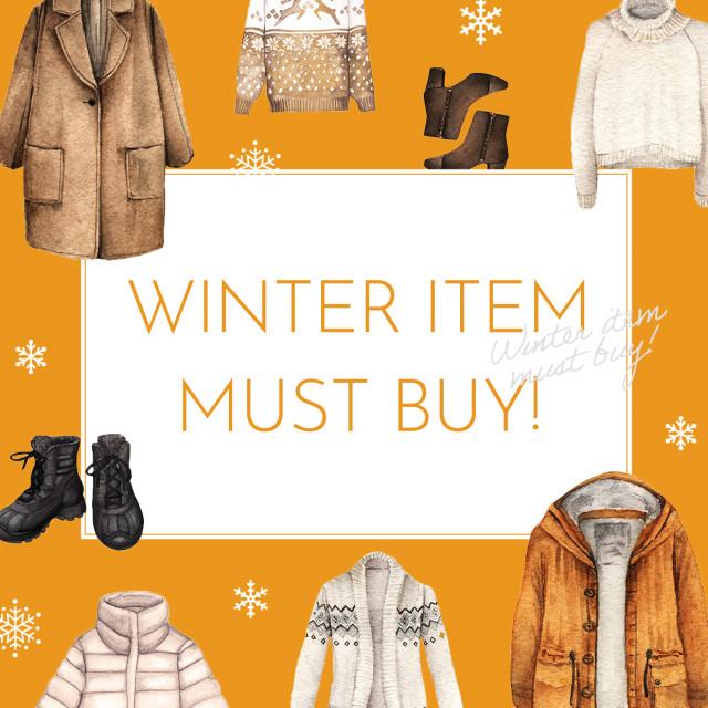 冬物ファッション2020
