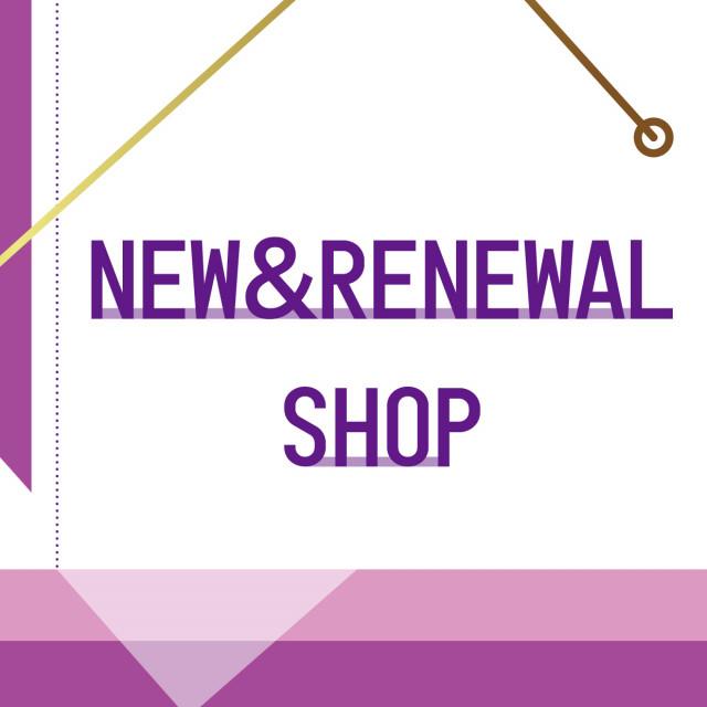NEW&RENEWAL SHOP