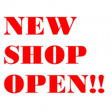 NEW SHOP OPEN!!